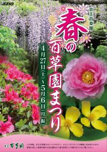 春の百草園まつりリーフレットA4_2019