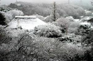 同じ見晴台からの雪景色
